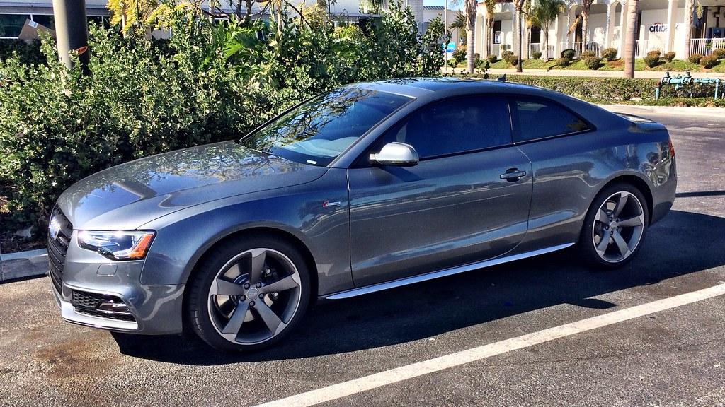 2014 Audi S5 Black Optics Monsoon Grey Car Spaz Flickr