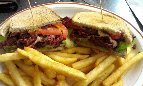Pastrami Sandwich @ Center City Diner | by Lehigh Valley, PA