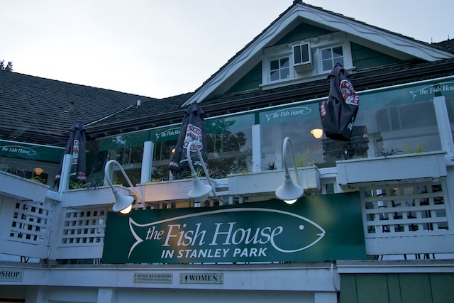 The fish house in stanley park read the blog post for Aaa fish house