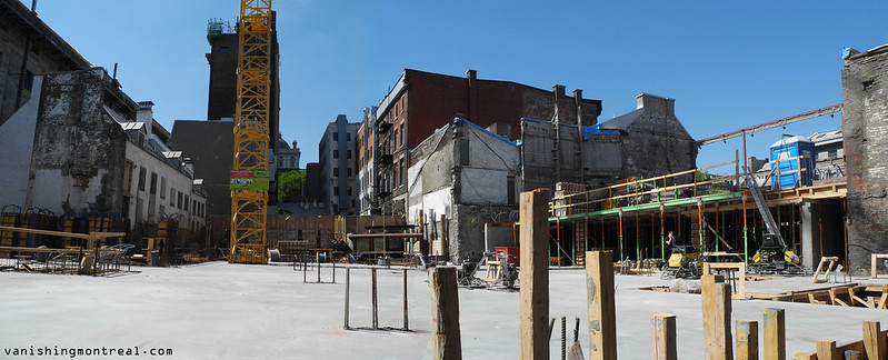 Place Jacques Cartier construction 1 panoramic