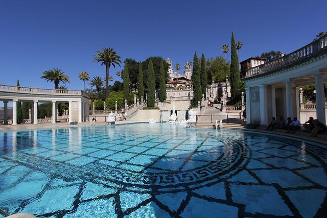 Neptune pool hearst castle flickr photo sharing for Castle gardens pool
