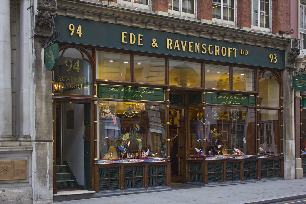 Ede & Ravenscroft – London's Oldest Tailor