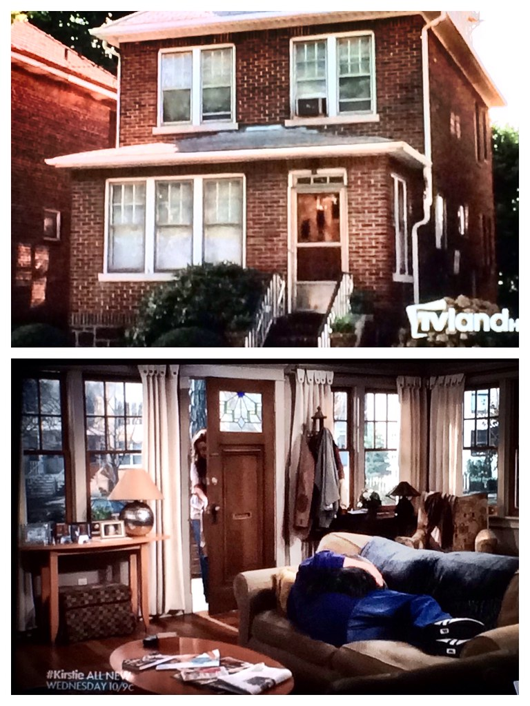 Only explanation: the King of Queens house is a Tardis ...