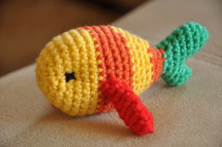 Crochet Amigurumi Blogs : Poisson amigurumi Amigurumi fish Crochet julie ...