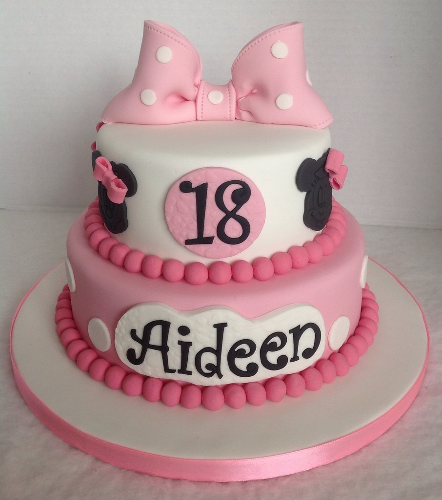 Minnie mouse 18th birthday cake liz flickr