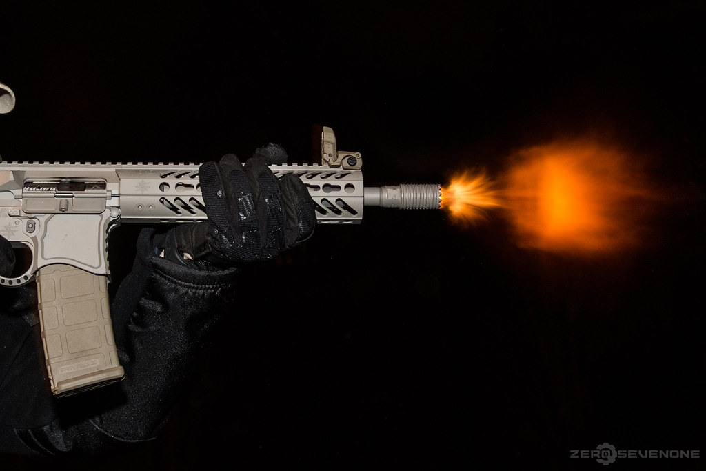 Seekins Precision AR Pistol with Troy Industries Claymore ...