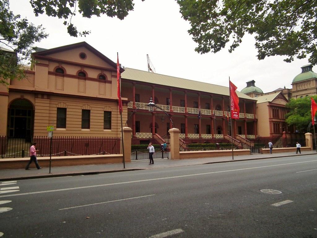 Building A New House Parliament House Sydney Nsw Parliament House Sydney