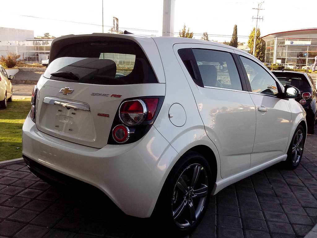 2014 chevrolet sonic rs turbo rear of the 2014 chevy sonic flickr. Black Bedroom Furniture Sets. Home Design Ideas