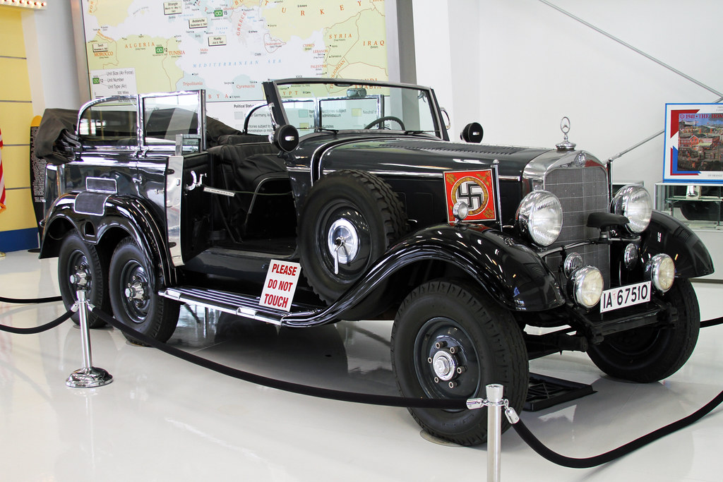 1939 mercedes g4 staff car lyon air museum orange for Mercedes benz of chandler staff