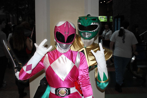 Power Rangers gang-sign | by greyloch