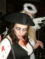 A zombie pirate.