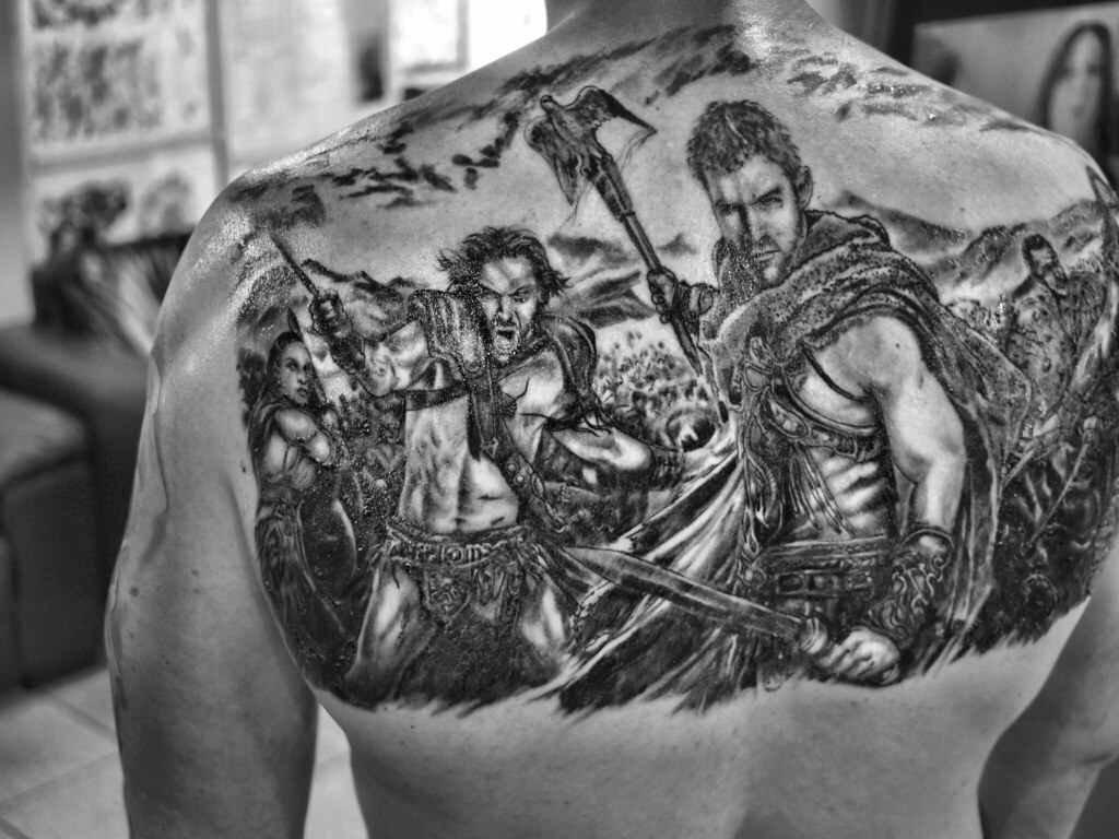 Spartacus Doc Price 3of3 Tattoo By Bill Price 92 Union