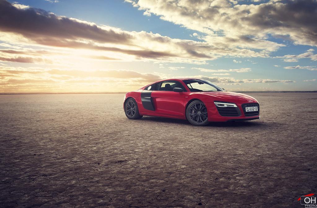 Audi R8 Front 34 Sunset Ohirtenfelder Flickr