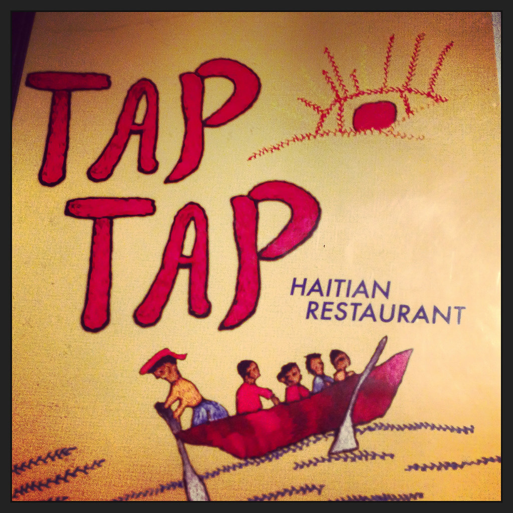 The Menu At Tap Tap Haitian Restaurant