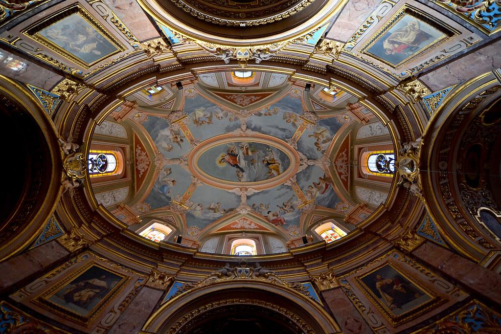 Ellipse | The dome of the Carmelite Church in Mdina in ...