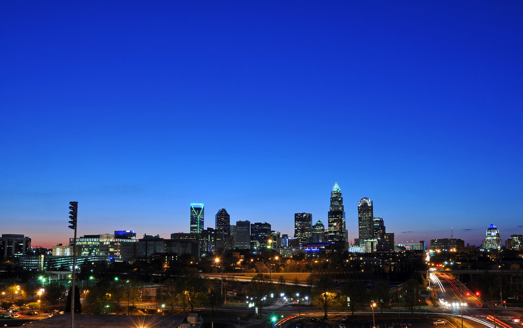 Charlotte Skyline Charlotte Nc James Willamor Flickr