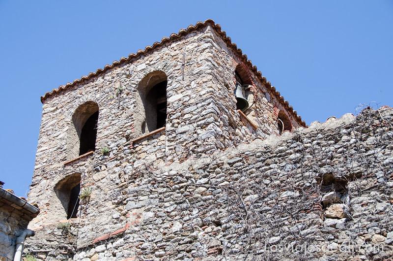 pueblos del macizo del Canigó iglesia de Palalda
