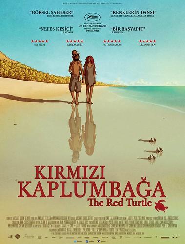 Kırmızı Kaplumbağa - La Tortue Rouge – The Red Turtle (2017)