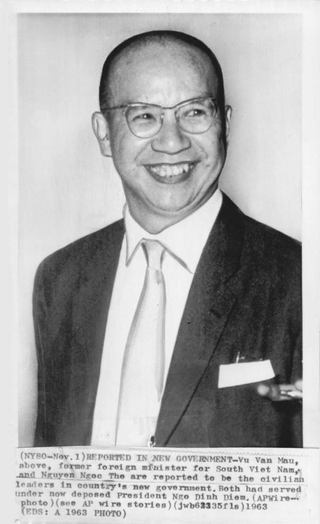 Van Van vu 1963 vu Van Mau South