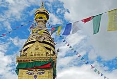 Prayer Flags in Kathmandu - Nepal