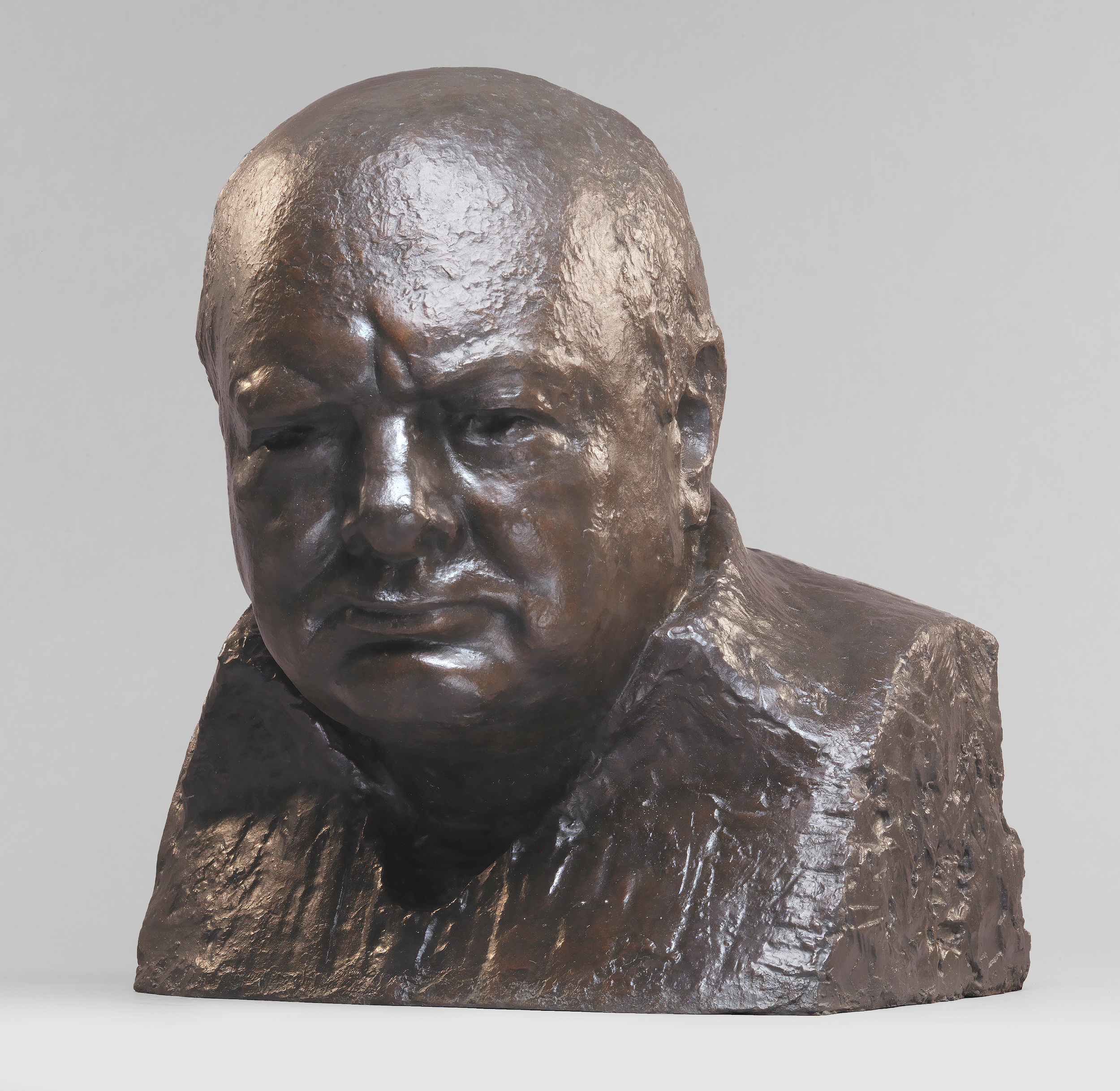 Sir Winston Churchill Bust Architect Of The Capitol