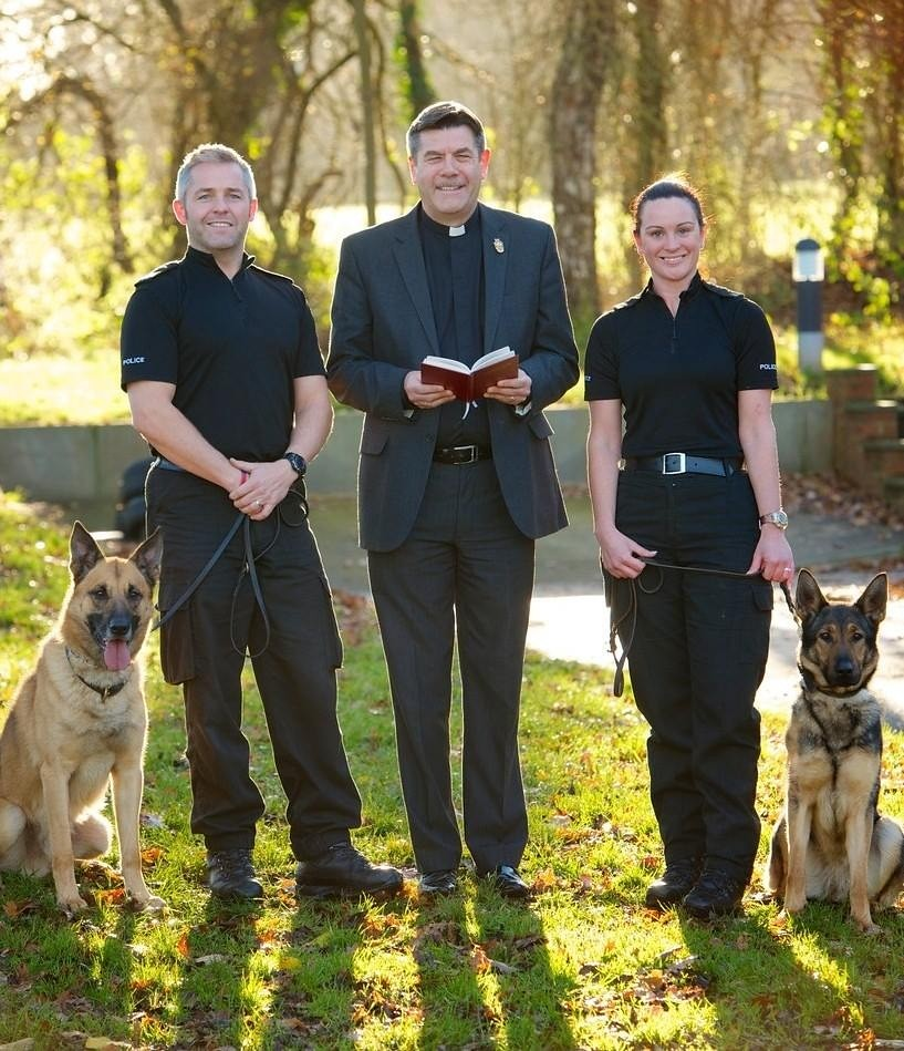 First Police Dog In New Zealand Name Shepherd
