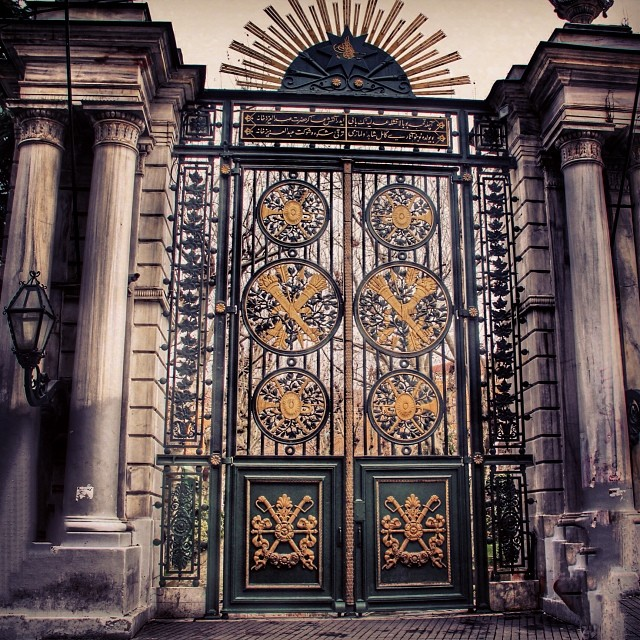 Entrance of Galatasaray High School (Lycée de Galatasaray ...