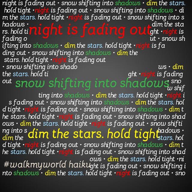 Dim the stars