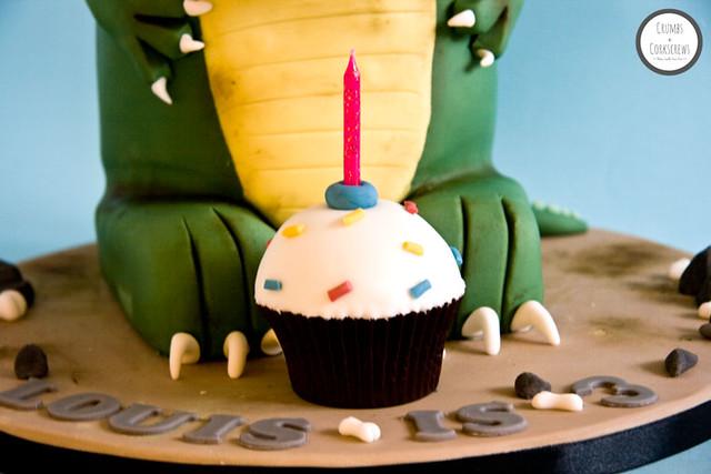 Blog T Rex Dinosaur Cake Tutorial Flickr Photo Sharing