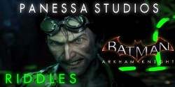 Batman Arkham Knight : Panessa Studios Riddle Locations.
