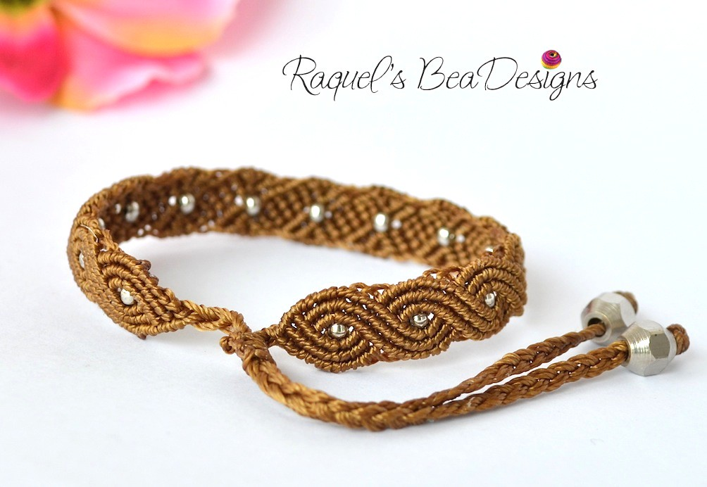 exotic twisted path bracelet raquel rodriguez flickr. Black Bedroom Furniture Sets. Home Design Ideas