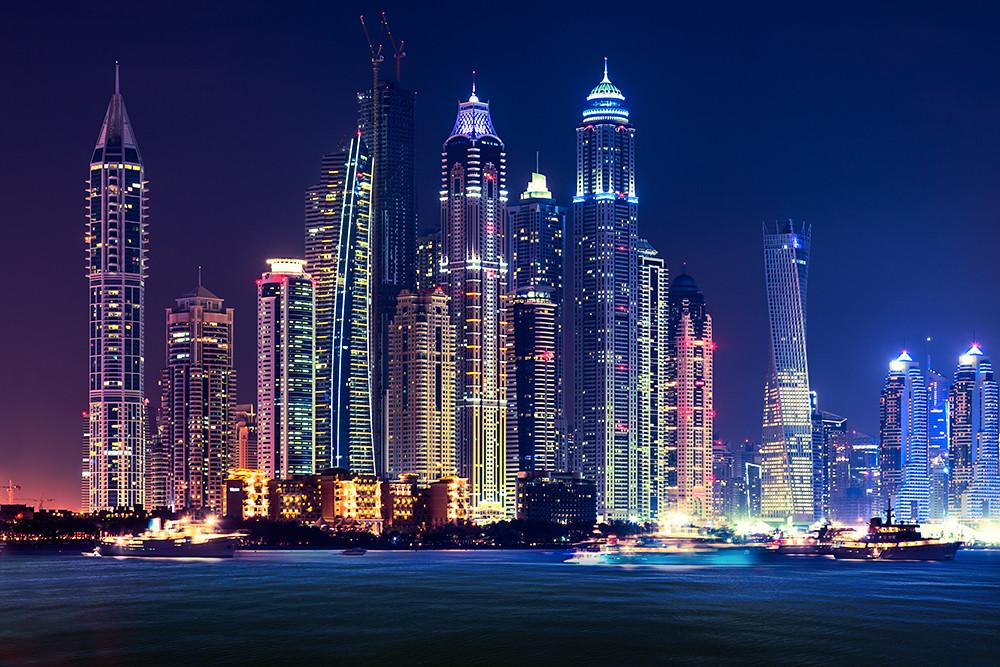 Dubai Marina Skyline | Don't use this image on any media wit… | Flickr
