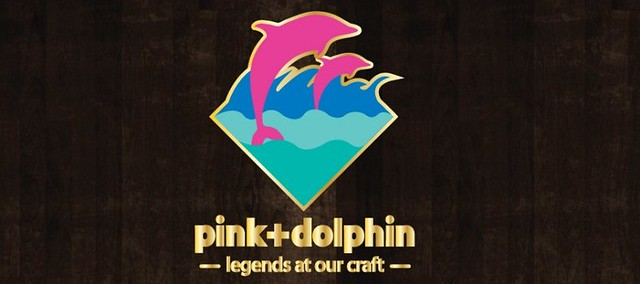 Pink dolphin banner flickr photo sharing - Pink dolphin logo wallpaper ...