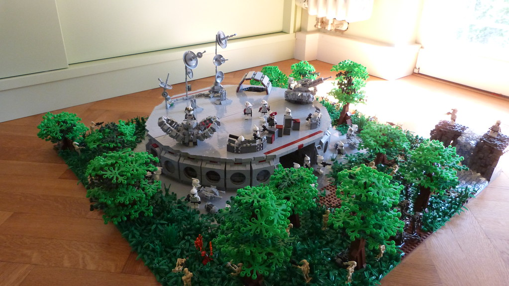 Lego Star Wars Base On Endor G Day Guys Today I Can