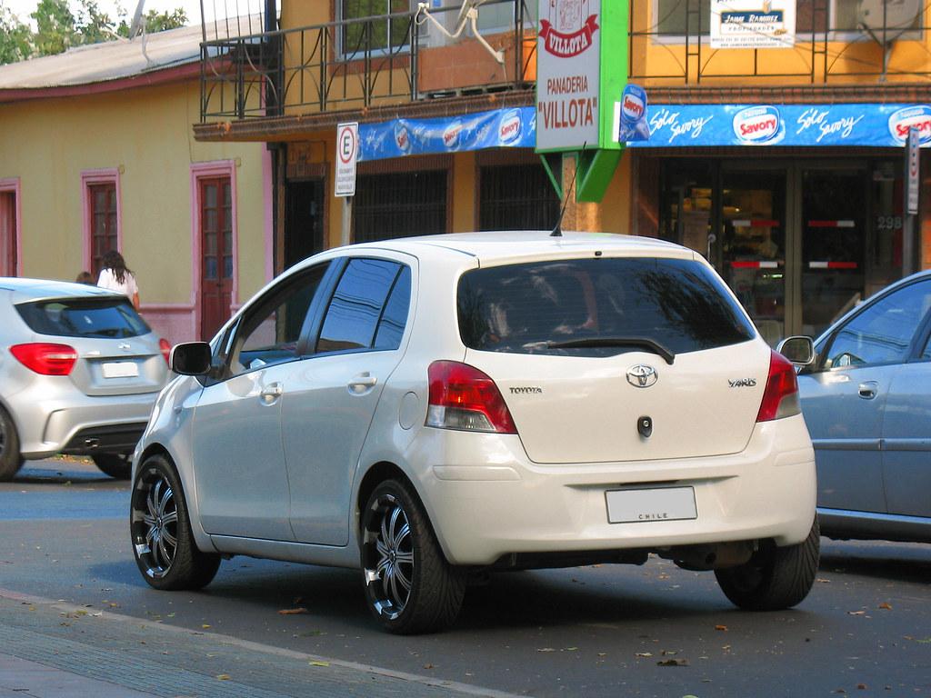 Toyota Yaris Sport 1 3 Xli 2009 Rl Gnzlz Flickr