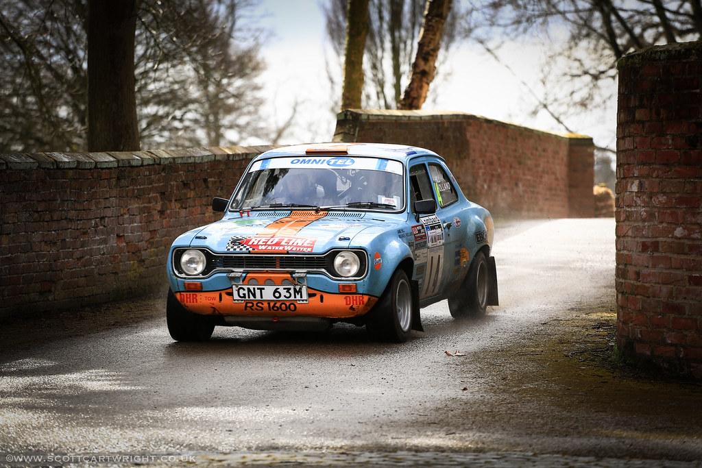 Mark  Escort Rally Car