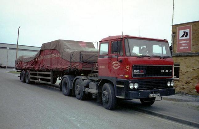 Daf 2800 E291 Cnn Daf 2800 6x2 Artic Of D Sharp Amp Sons