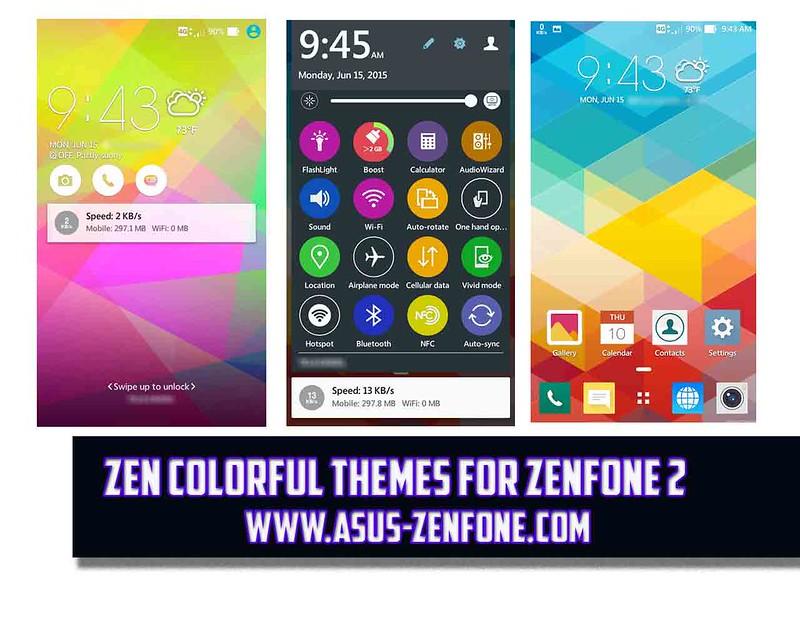 Khám phá bộ Themes đa màu sắc của Asus Zenfone 2 - 77598