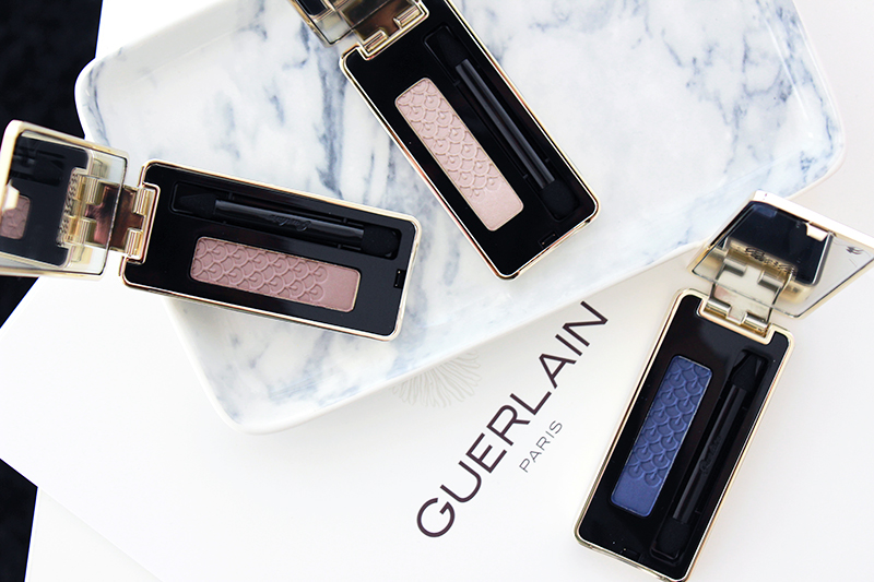 The New Guerlain Approach to Eyeshadows