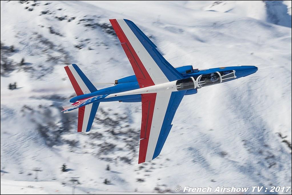 Patrouille de France Meribel Aerosnow 2017