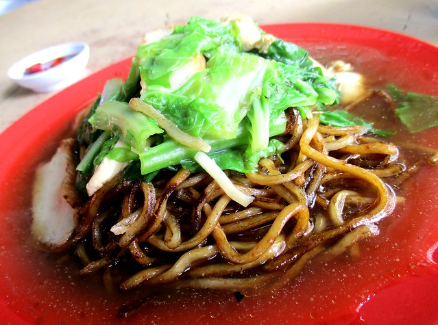 A-Plus Food Centre Foochow fried noodles