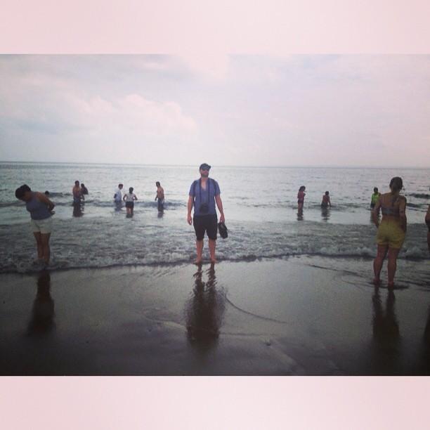 Coney Island Beach: Beach Bum. Coney Island, Brooklyn. Wednesday, July 12, 201