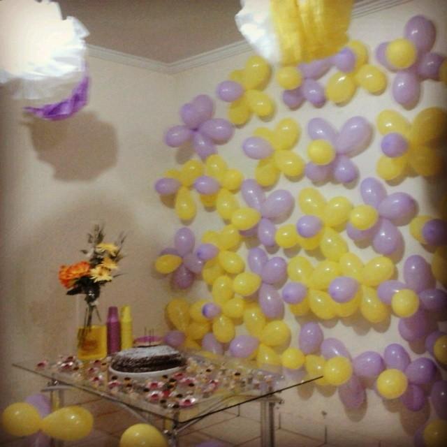 Pequena festa surpresa da grande amiga Karina!!! #aniversá