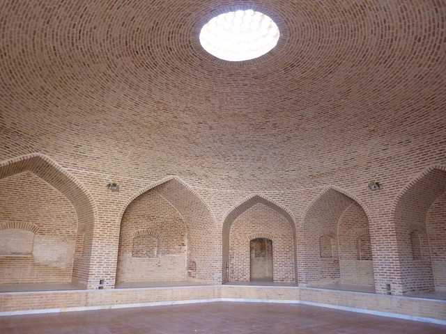 Caravasar en Kharanaq (Irán)