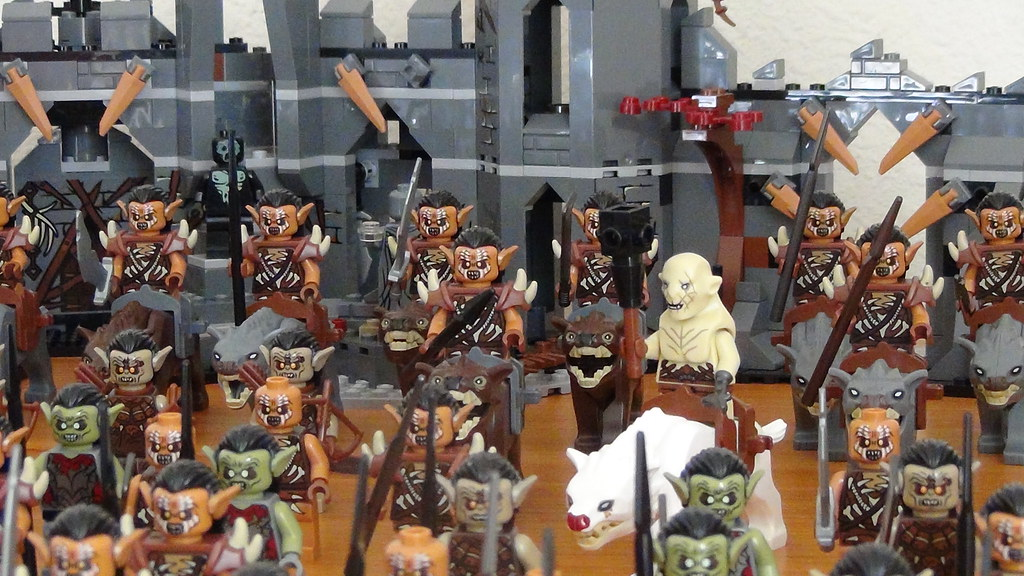 White Warg My LEGO Hobbit Orc and...