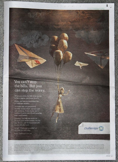 Full page advertisement for Challenger Annuities