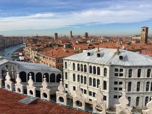 Vistas de Venecia desde Fondaco dei Tedeschi
