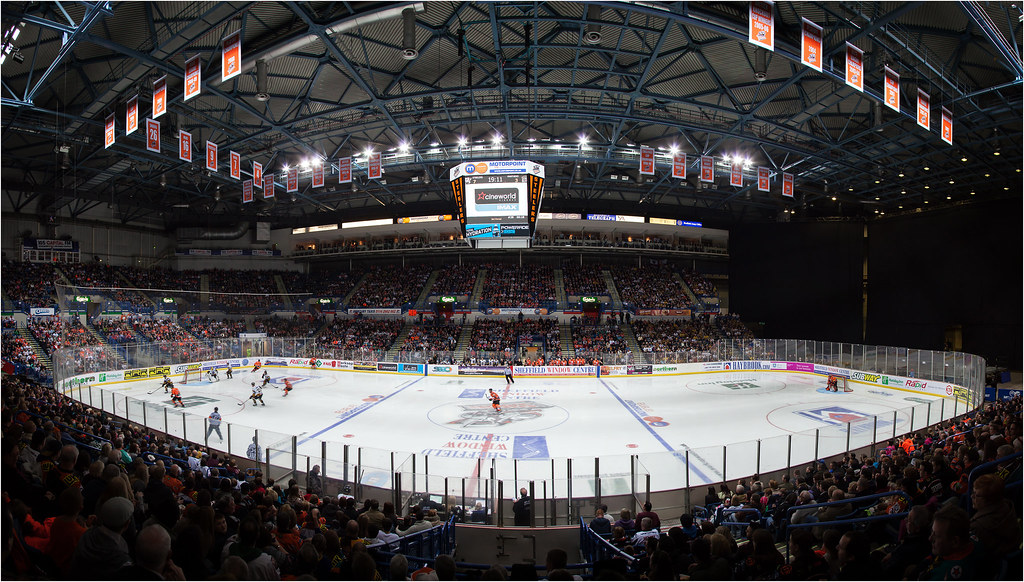 Sheffield Arena Steelers v Panthers Dec12 | Ice Hockey ...