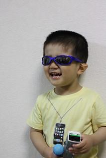 サングラスとらちゃん 2013/5