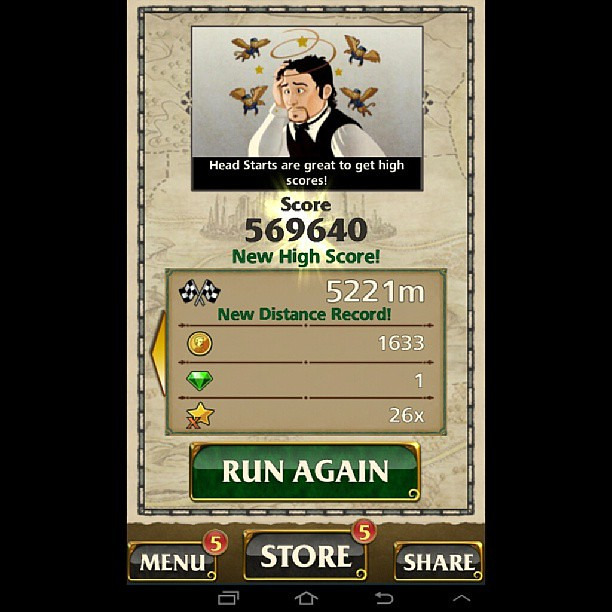 how to get high score in temple run 2